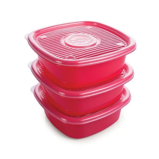 Conjunto-com-3-potes-plastico-quadrado-Plasutil-1-litro