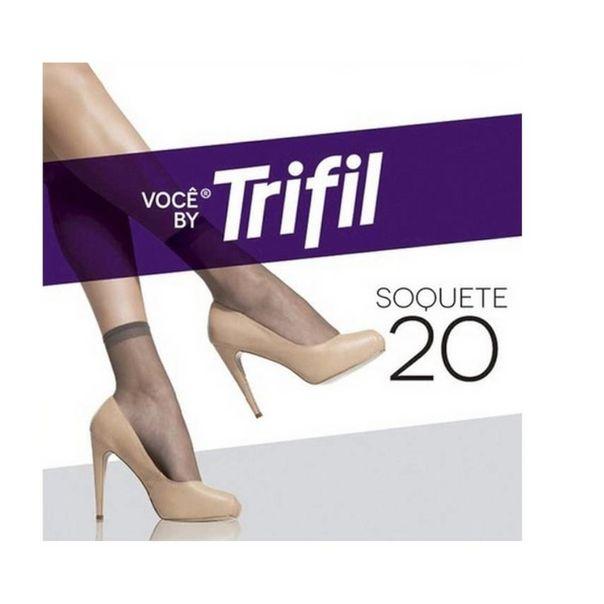 Meia-soquete-fio-20-fume-tamanho-unico-Trifil