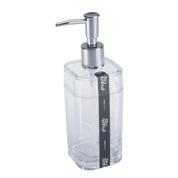 Porta-sabonete-liquido-splash-cristal-Coza-290ml