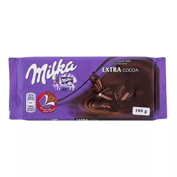 Tablete-de-chocolate-dark-extra-cacau-Milka-100g
