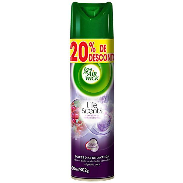 Desodorizador-aerossol-doce-dia-lavanda-com-20--de-desconto-Air-Wick-360ml-