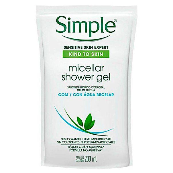 Sabonete-liquido-corporal-agua-micelar-refil-Simple-200ml