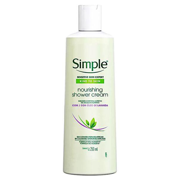 Sabonete-liquido-corporal-nourishing-com-oleo-de-lavanda-Simple-250ml