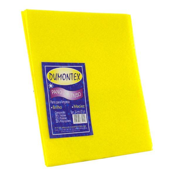 Pano-multiuso-amarelo-Dumontex