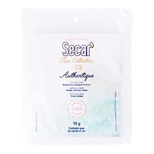 Sachet-perfumado-fine-collection-authentique-Secar-15g