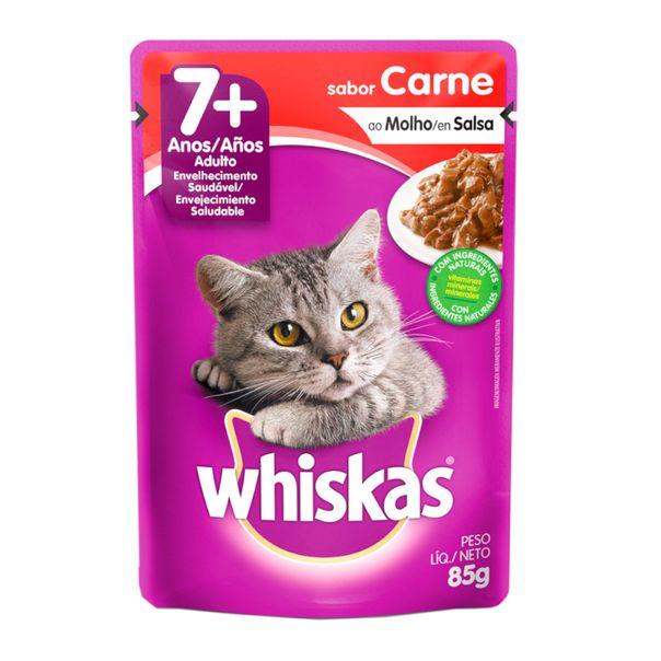 Racao-umida-para-gatos-sabor-carne-ao-molho-e-salsa-sache-Whiskas-85g