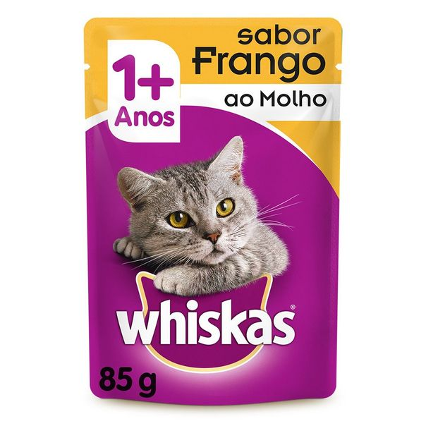 Racao-umida-para-gatos-adultos-sabor-frango-jelly-sache-Whiskas-85g