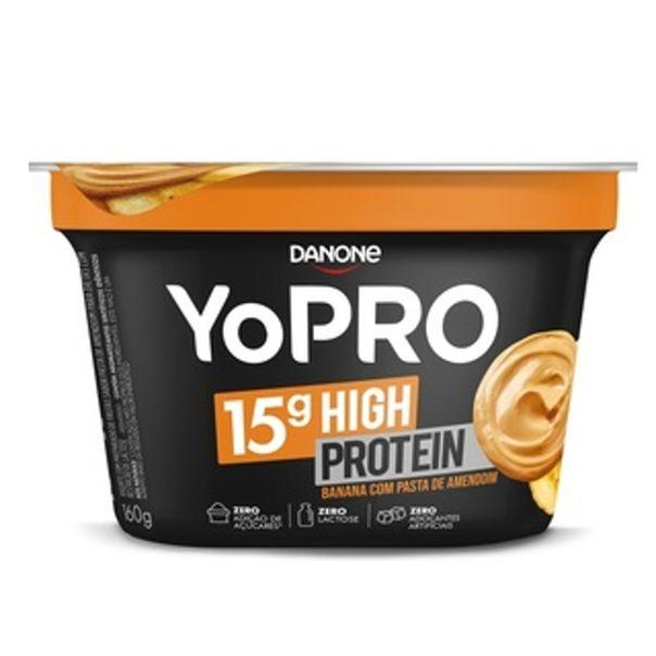 Iogurte-sabor-banana-com-pasta-de-amendoim-YoPro-100g