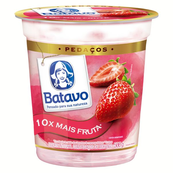 Iogurte-pedacos-sabor-morango-Batavo-500g