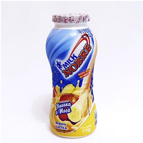 Iogurte-sabor-banana-e-maca-Milk-Nobre-170g