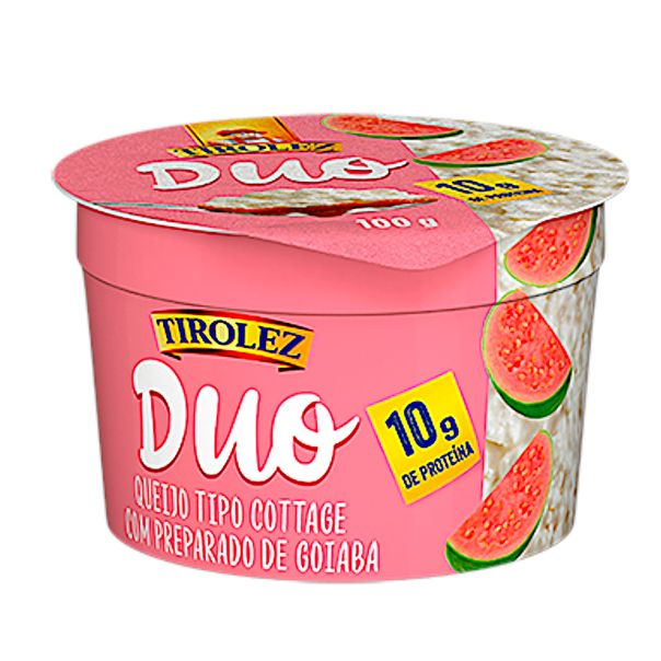 Queijo-cottage-duo-goiaba-Tirolez-100g