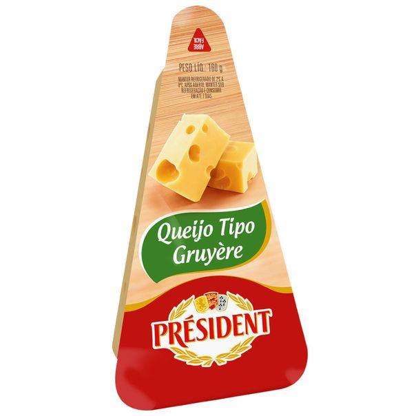 Queijo-gruyere-President-160g