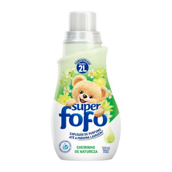 Amaciante-concentrado-super-cheirinho-de-natureza-Fofo-500ml