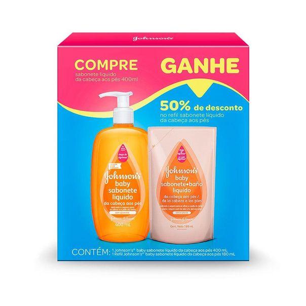 Kit-sabonete-liquido-baby-da-cabeca-aos-pes---refil-Johnson-s-400ml