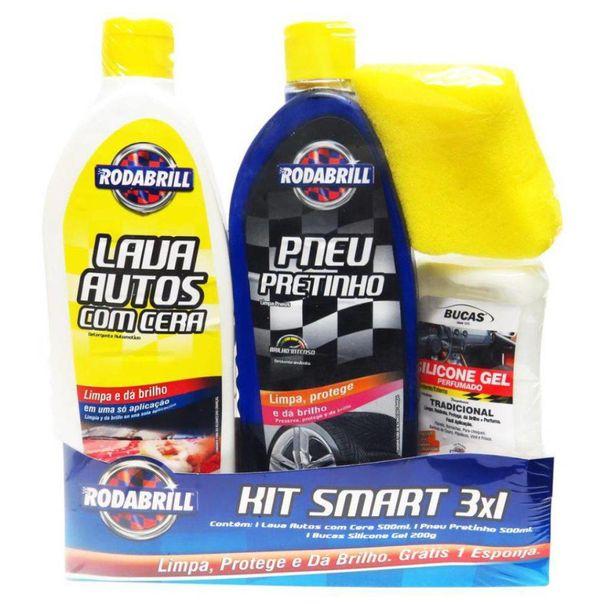 Kit-smart-lava-autos-com-cera-pneu-pretinho-e-silicone-bucas-gel-Rodabril