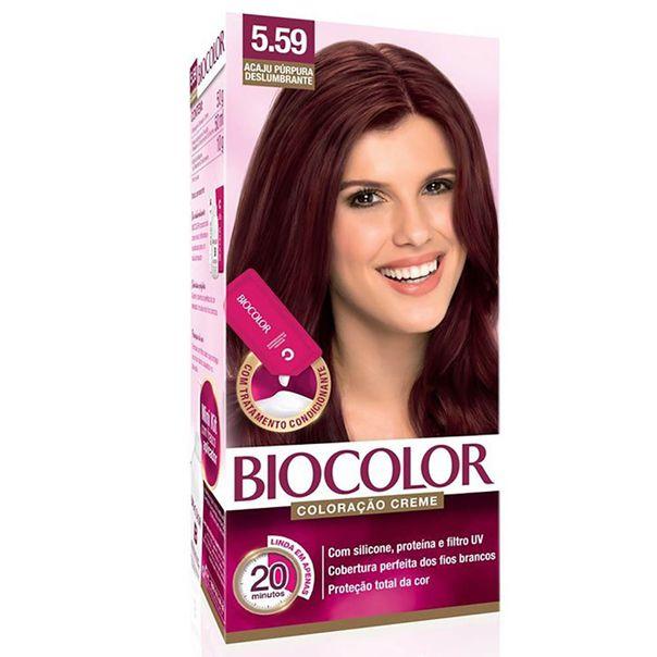 Tintura-permanente-kit-5.5-acaju-purpura-deslumbrante-Biocolor