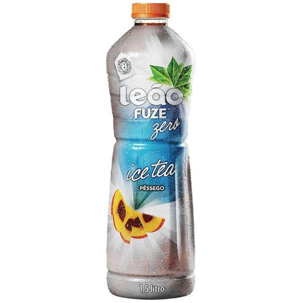 Cha-ice-tea-sabor-pessego-zero-Leao-15-litros