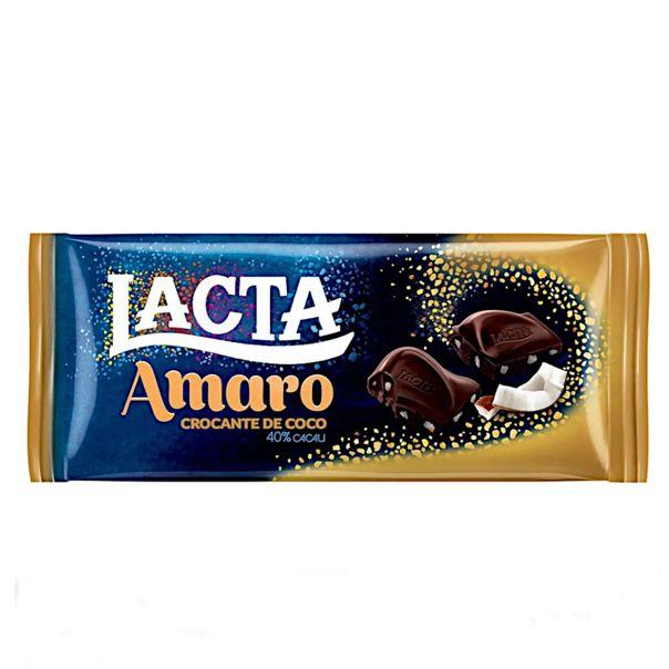 Chocolate-amaro-crocante-de-coco-40--cacau-Lacta-90g