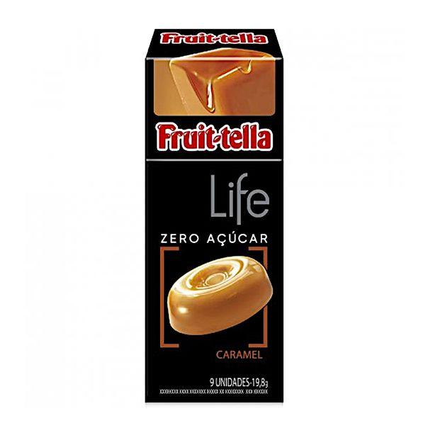 Bala-life-sabor-caramelo-Fruit-tella-18.9g