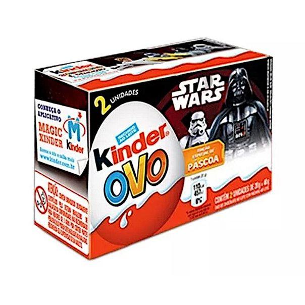 Kinder-Ovo-star-wars-com-2-unidades-48g