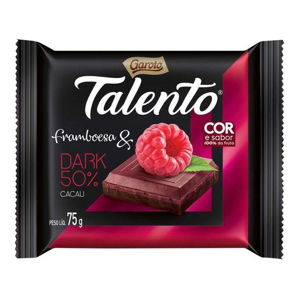 Tablete-de-chocolate-sabor-framboesa-dark-talento-Garoto-75g