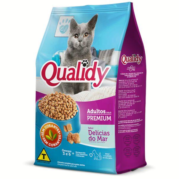 Alimento-para-gatos-adultos-sabor-carne-Qualidy-500g