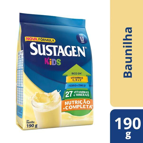 Complemento-alimentar-sabor-baunilha-sache-Sustagen-Kids-190g
