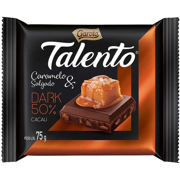 Tablete-de-chocolate-sabor-caramelo-dark-50--de-cacau-talento-Garoto-75g