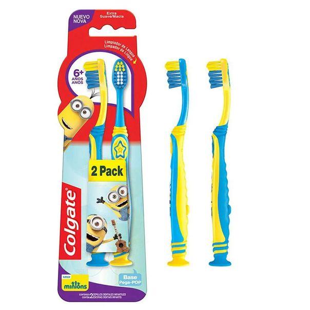 Escova-dental-smile-liga-da-justica-com-2-unidades-Colgate