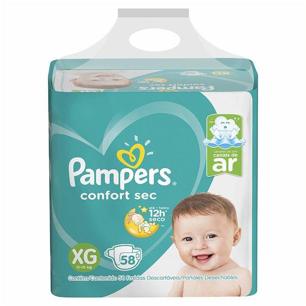 Fralda-confort-sec-tamanho-XG-com-58-unidades-Pampers-