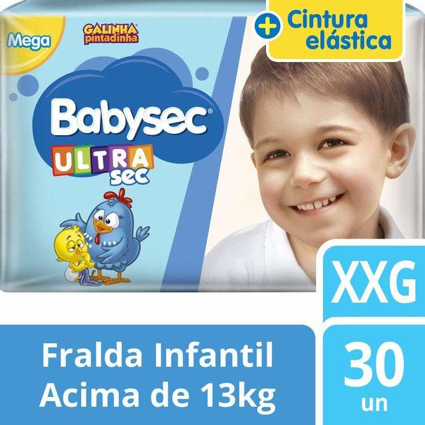 Fralda-galinha-pintadinha-ultrasec-mega-tamanho-XXG-com-30-unidades-Babysec