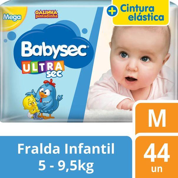 Fraldas-galinha-pintadinha-ultrasec-tamanho-M-com-44-unidades-BabySec