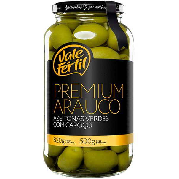 Azeitona-Verde-Arauco-Premium-Verde-Fertil-500g