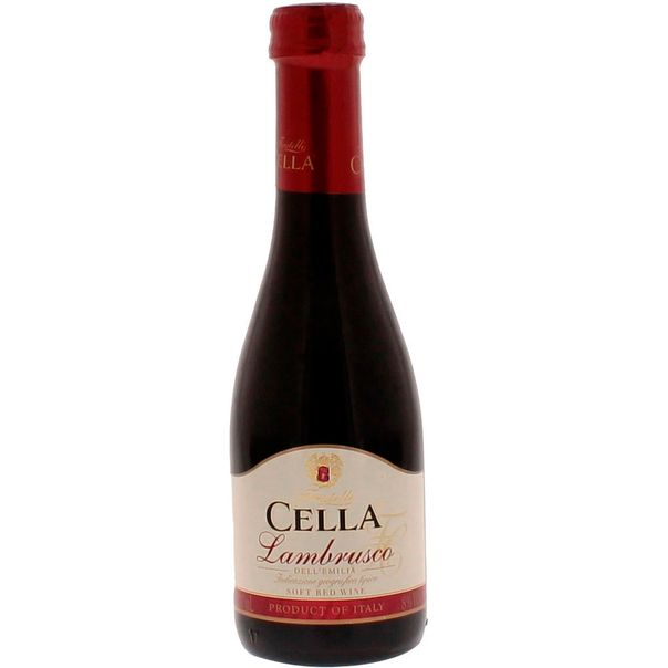 Vinho-Tinto-Italiano-Lambrusco-Cella-200ml