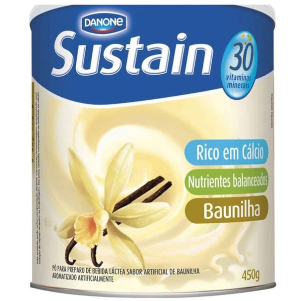 Composto-Alimentar-Baunilha-Sustain-450g