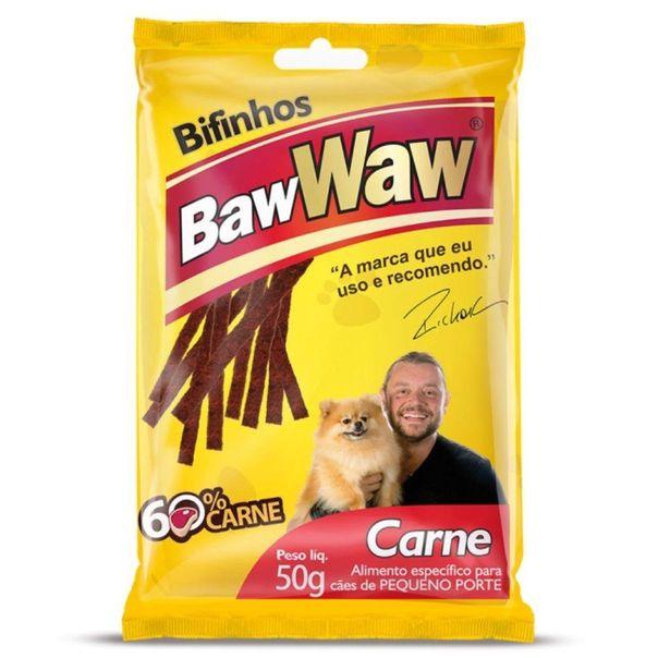 Alimento-para-caes-adultos-bifinho-sabor-carne-Baw-Waw-50g