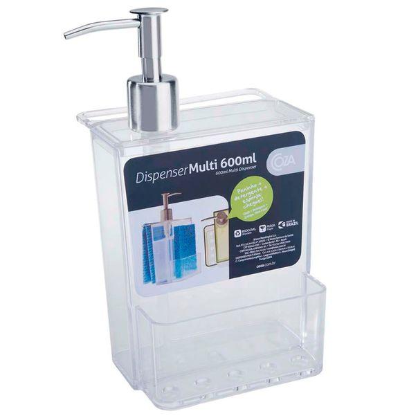 Dispenser-multi-brinox-cristal-Coza-600ml