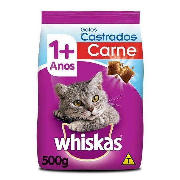 Alimento-para-gatos-castrados-sabor-carne-Whiskas-500g