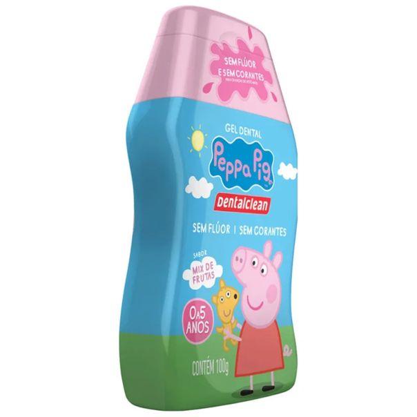 Gel-dental-infantil-sem-fluor-peppa-pig-Dentalclean-100g