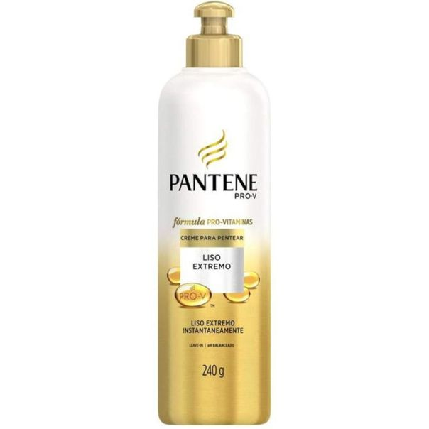 Creme-de-pentear-liso-extremo-Pantene-250ml
