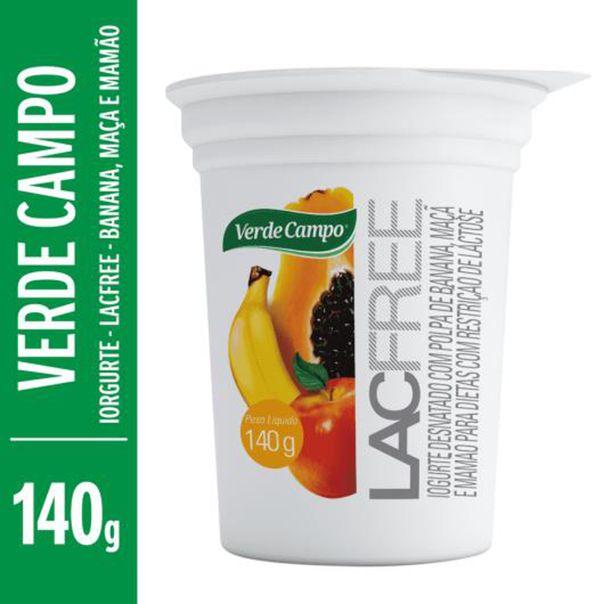 Iogurte-lacfree-sabor-banana-maca-e-mamao-sem-lactose-Verde-Campo-140g
