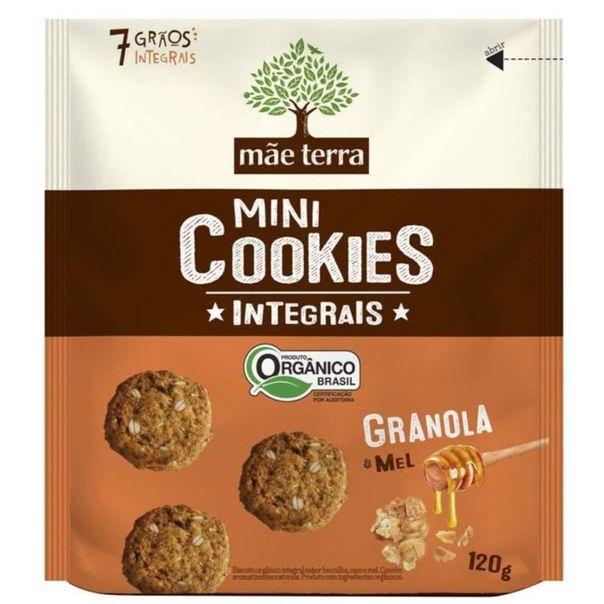 Mini-cookies-organico-granola---mel-Mae-Terra-120g