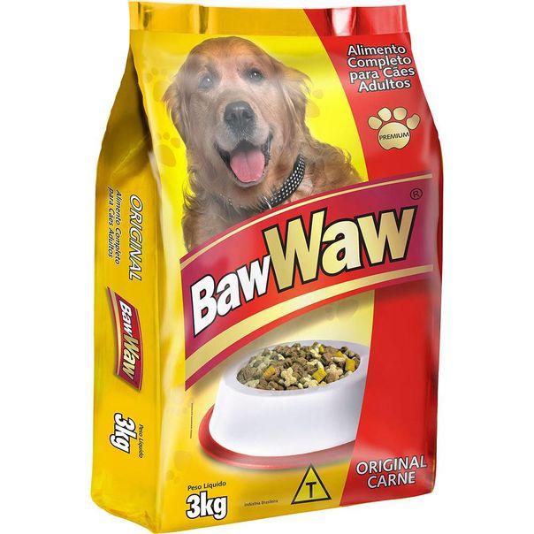Racao-para-caes-sabor-carne-Baw-Waw-3kg