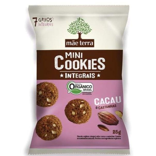 Cookies-integrais-sabor-cacau-e-castanhas-Mae-Terra-25g