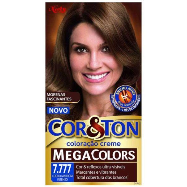 Tinta-permanente-para-cabelo-kit-mega-7.777-louro-marrom-intenso-Cor---Ton-135g