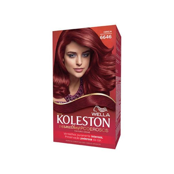 Tintura-permanente-creme-wella-kit-6646-cereja-Koleston