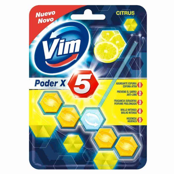 Desodorizador-sanitario-bloco-poder-x5-citrus-Vim-55g
