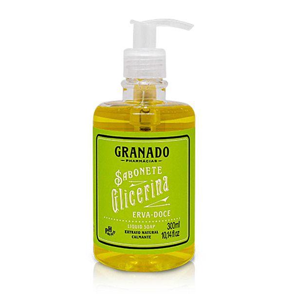 Sabonete-liquido-glicerinado-erva-doce-Granado-300ml