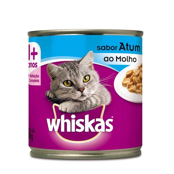 Alimento-para-Gatos-Whiskas-Atum-em-Molho-Lata-290g