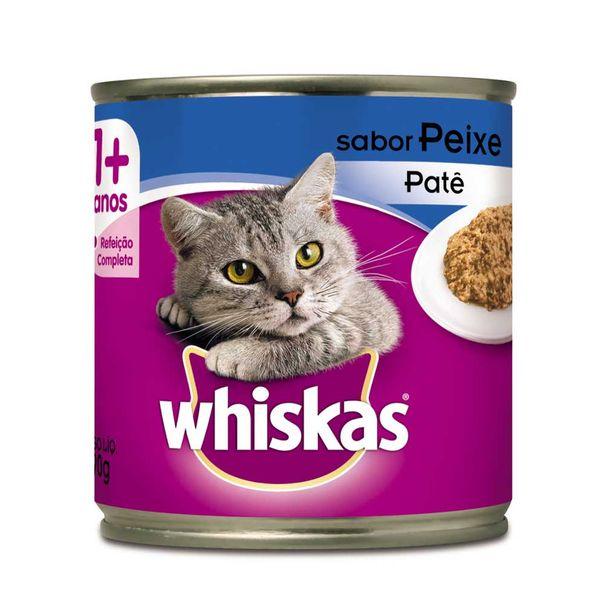 Alimento-para-Gatos-Whiskas-Peixe-Lata-290g